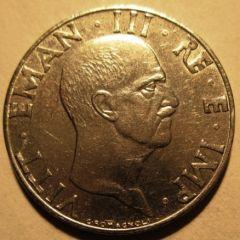 50 Centesimi 1941 XIX  Conio fratturato   Obverse