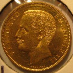 20 Lire 1905  Aquila Sabauda       Obverse