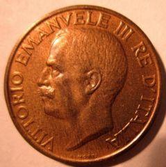 10 Centesimi 1929 Ape  Obverse