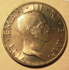 50 Centesimi 1936 Impero Obverse