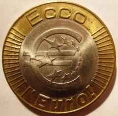1 Euro 1997 Poteassieve  Esperimento   Obverse