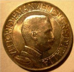 1 Lira 1910   Quadriga Veloce   Obverse