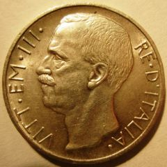 10 Lire 1927 R     Biga   Obverse