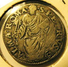 Giulio  Sede Vacante 1559   Obverse