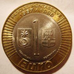 1 Euro 1997 Poteassieve  Esperimento  Reverse