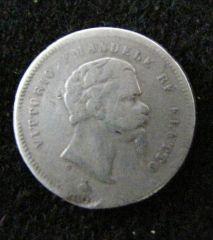 Firenze - Vittorio Emanuele Re Eletto - 50 centesimi