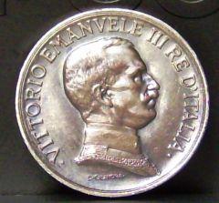 1 lira quadriga briosa del 1916 D/