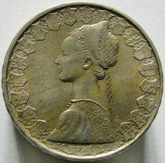 500 lire 1961 dritto