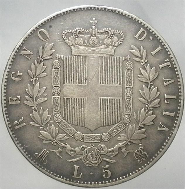 5 lire 75d