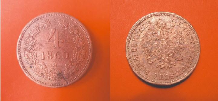 Moneta K.K Osterreich Scheidemunze