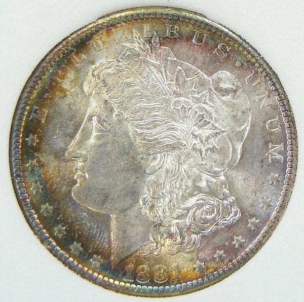 1 dollaro morgan 1881-S d