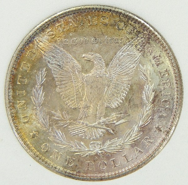 1 dollaro morgan 1881-S r