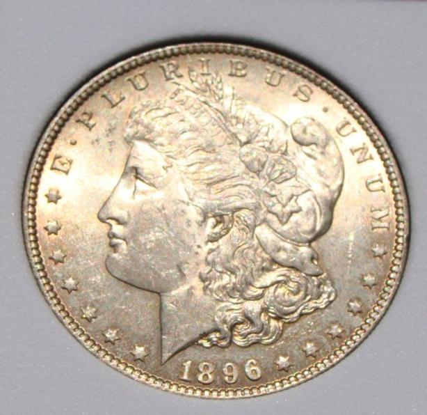1 dollaro morgan 1896-P d