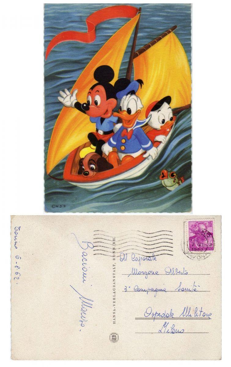 Cartolina Topolino Lr