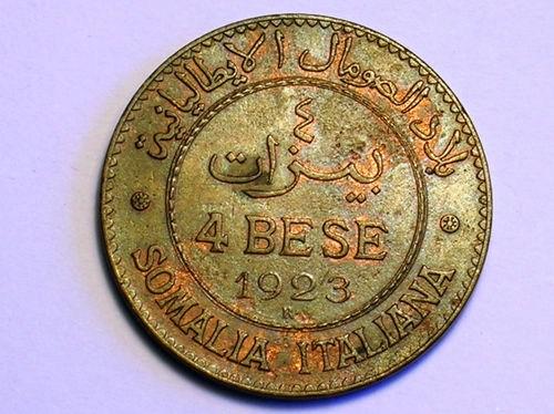 4 BESE 1923 ROVESCIO