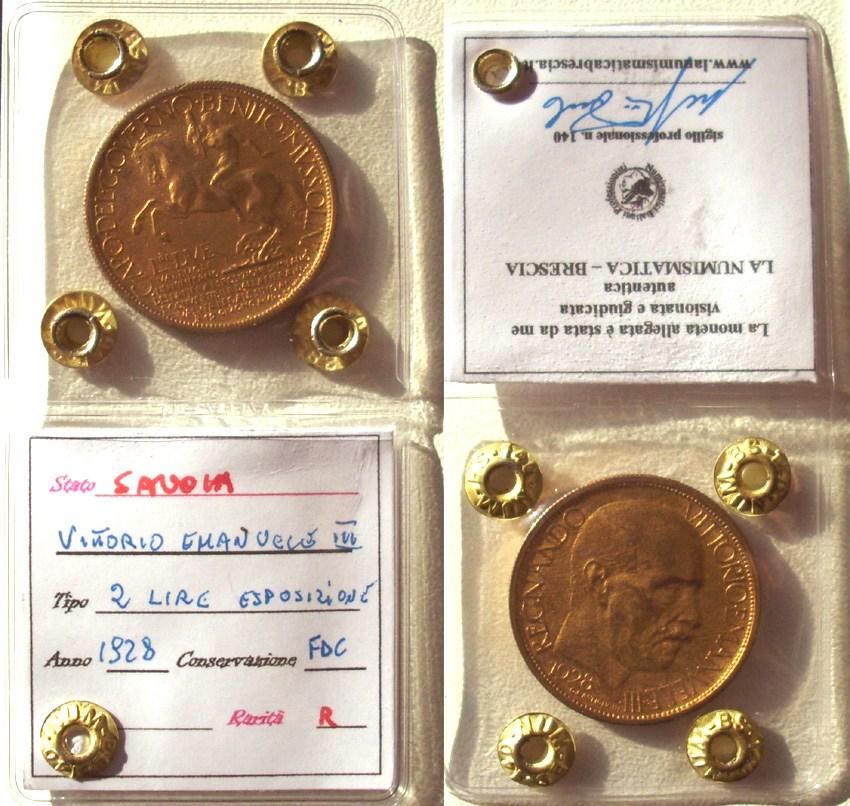 2 lire 1928 milano