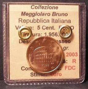 5 centesimi 2003