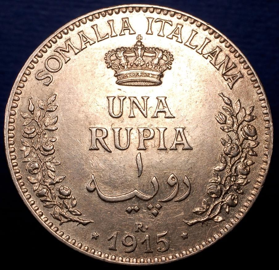 1 rupia 1915