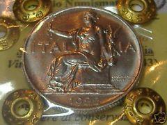 1 LIRA 1922 FDC