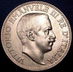1 rupia 1915 (dritto)