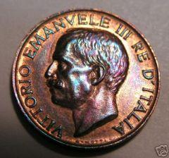 5 cent. 1921 dritto FDCr
