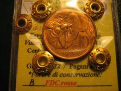10 cent. 1923 FDCr