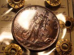5 centesimi 1918