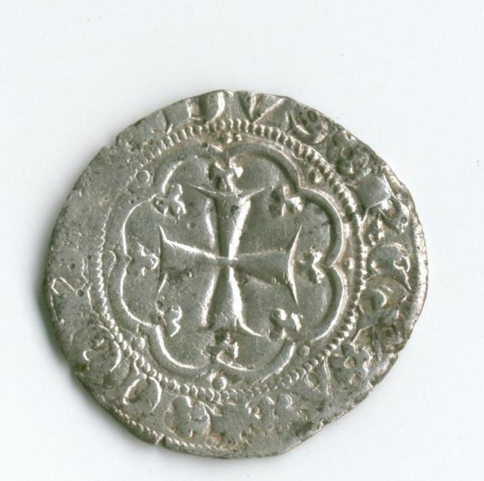 Grosso di Simon Boccanegra Quarto doge (1356-1365)