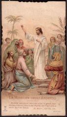 13 Gesù Istruisce gli Apostoli per la loro Missione