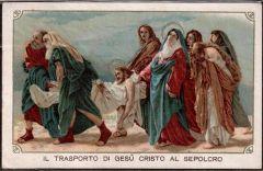 40 Gesù viene trasportato al Sepolcro