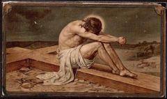 34 Gesù viene preparato per la Croce