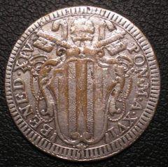 D. BAIOCCO ROMANO A. XVI  1756  BENEDETTO XIV ( 1740 - 1758 )