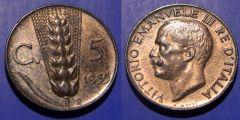 5 Centesimi Spiga 1935 SPL