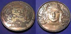 20 Centesimi 1906 SPL
