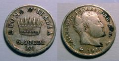 5 Soldi 1810 Napoleone Imp