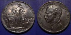 5 Centesimi Prora 1909 QSPL