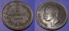 2 centesimi Valore 1906 BB
