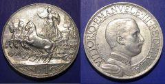 1 Lira Quadriga Veloce 1908 SPL