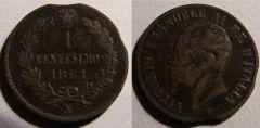 1 Centesimo 1862 N