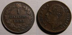 1 Centesimo 1895 R Umb I