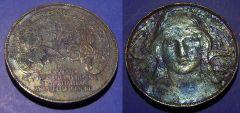 20 Centesimi Buono 1906 Esposizione Internazionale MB BB