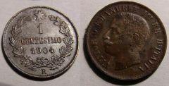 1 Centesimo Valore 1904 Mb