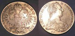 Tallero Di convenzione 1780 Austria QSPL