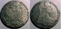 Tallero Di Convenzione 1780 Eritrea