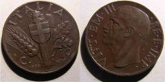 10 Centesimi Spiga 1936 XIV