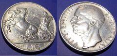 10 Lire 1928 1 rosetta BB