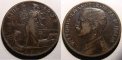 5 Centesimi Prora 1908