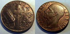 10 Centesimi Spiga 1941 QFDC
