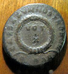 Costantino II - AE3 Vot X - rovescio