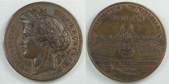 Medaglia Francese 1878